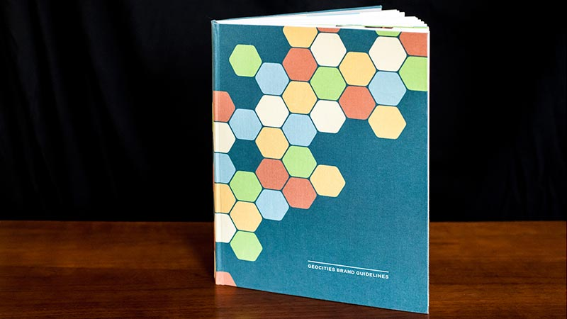 Cover of the Brand Guidelines book