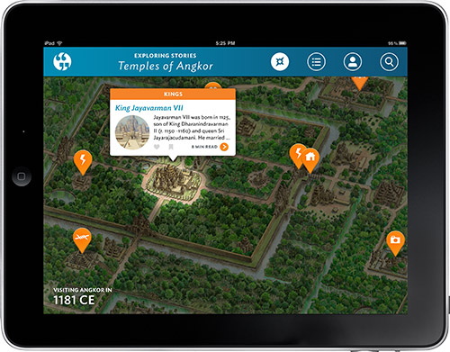Exploring Stories Map View Story Pin Tooltip