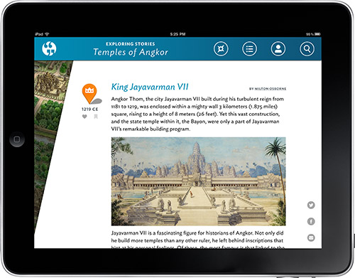 Exploring Stories Story View